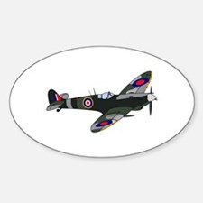 SPITFIRE PLANE LARGE Decal