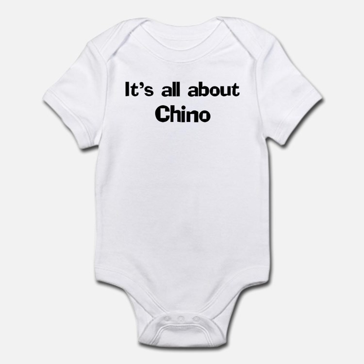 About Chino Infant Bodysuit