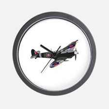 SPITFIRE PLANE LARGE Wall Clock