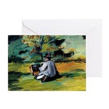 Cezanne - A Painter at Work Greeting Card