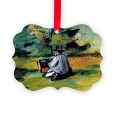 Cezanne - A Painter at Work Ornament