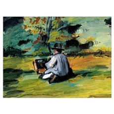Cezanne - A Painter at Work Poster
