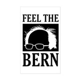Feel the bern Bumper Stickers