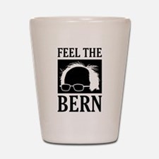 Feel the Bern [Hair] Shot Glass