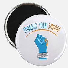 """Smudge Blue 2.25"""" Magnet (10 Pack) Magnets"""
