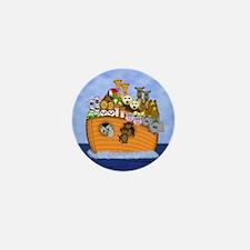 Noah's Ark Mini Button
