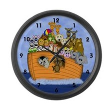 Noah's Ark Large Wall Clock