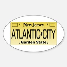 Atlantic City NJ Tag Giftware Decal