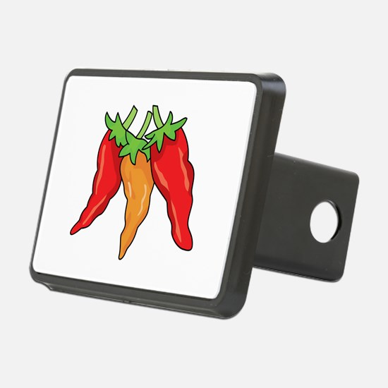 Hot Peppers Hitch Cover