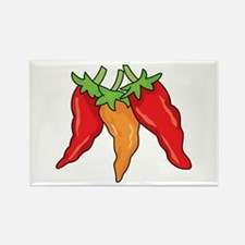 Hot Peppers Magnets