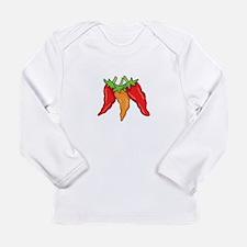 Hot Peppers Long Sleeve T-Shirt