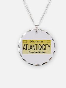 Atlantic City NJ Tag Giftwar Necklace