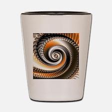 Intervolve Orange Shot Glass