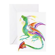 Jewel Dragon Greeting Card