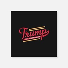 Trump Genuine Asshole Sticker