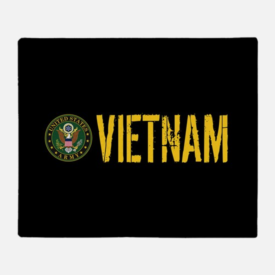 U.S. Army: Vietnam Throw Blanket