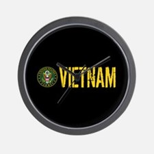 U.S. Army: Vietnam Wall Clock