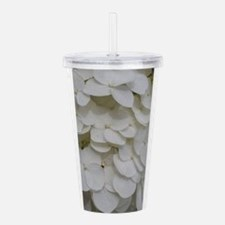 White Blooms Collectio Acrylic Double-wall Tumbler
