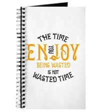 Enjoy Being Wasted Marijuana Journal