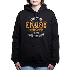 Enjoy Being Wasted Marij Women's Hooded Sweatshirt