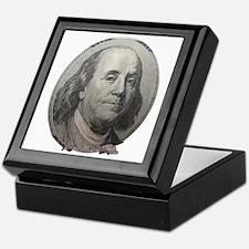 Benjamin Franklin Keepsake Box