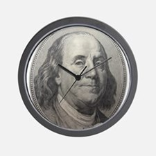 Benjamin Franklin Wall Clock