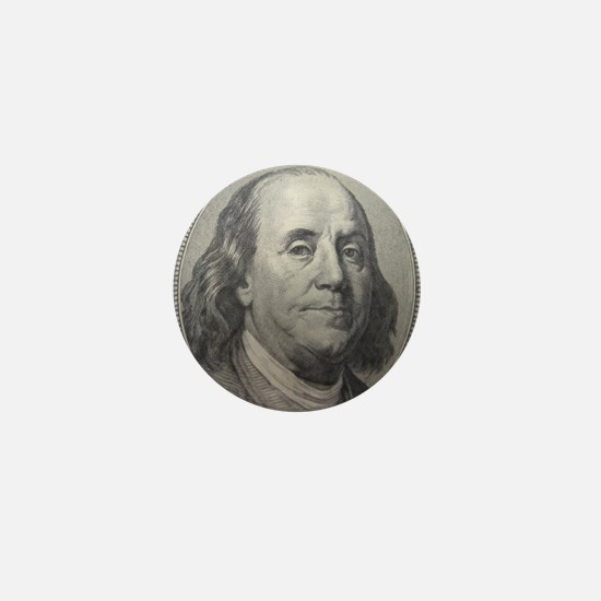 Benjamin Franklin Mini Button