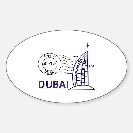 TRAVEL DUBAI Decal