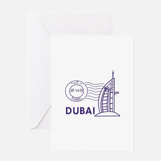 TRAVEL DUBAI Greeting Cards