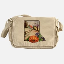 Thanksgiving Messenger Bag