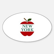 NEW YORK BIG APPLE Decal