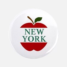 NEW YORK BIG APPLE Button