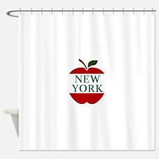 NEW YORK BIG APPLE Shower Curtain