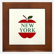 NEW YORK BIG APPLE Framed Tile