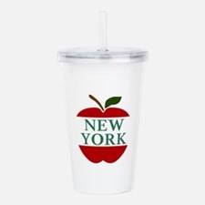 NEW YORK BIG APPLE Acrylic Double-wall Tumbler