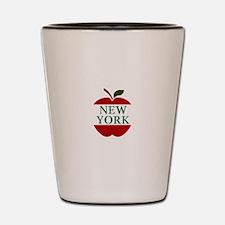NEW YORK BIG APPLE Shot Glass
