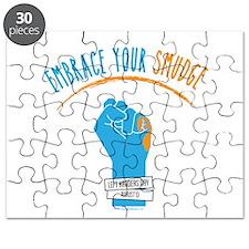Smudge Blue Puzzle