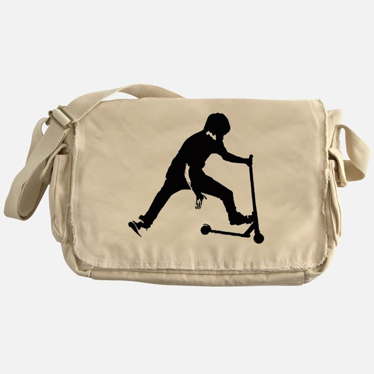 Cute Scooters Messenger Bag