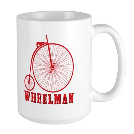 Wheelman Large Mug