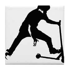Unique Skater Tile Coaster