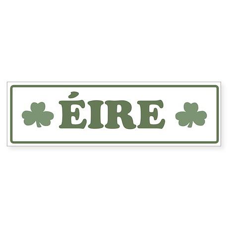 Eire IRELAND Bumper Sticker