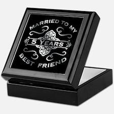 Married To My best Friend 5th Keepsake Box