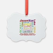 General Hospital Men Ornament