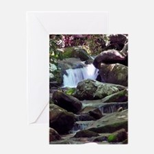Great Smoky Mountain Stream Greeting Card