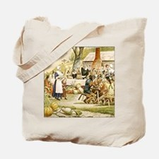 First Thanksgiving Tote Bag