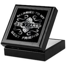 Married To My best Friend 35th Keepsake Box