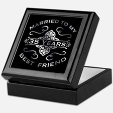 Married To My best Friend 35th Keepsake Box