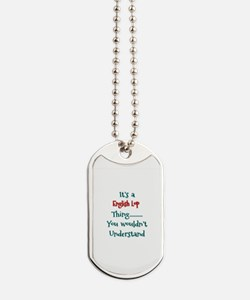 English Lop Thing Dog Tags