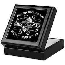 Married To My best Friend 50th Keepsake Box