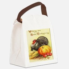 Happy Thanksgiving Canvas Lunch Bag
